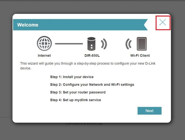 Important D-Link DIR 850L Firmware Update Required